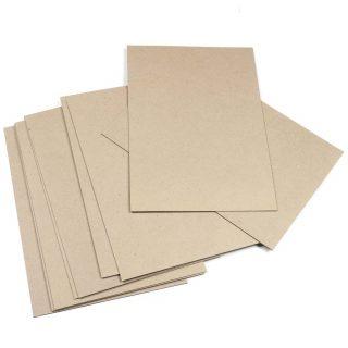Cartulina y cartón reciclado